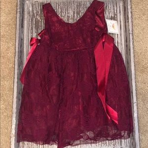 🌺🌺🌺 Burgandy lace dress